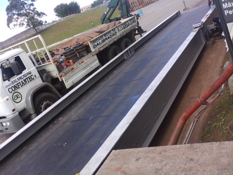 Manutenção de balança rodoviária
