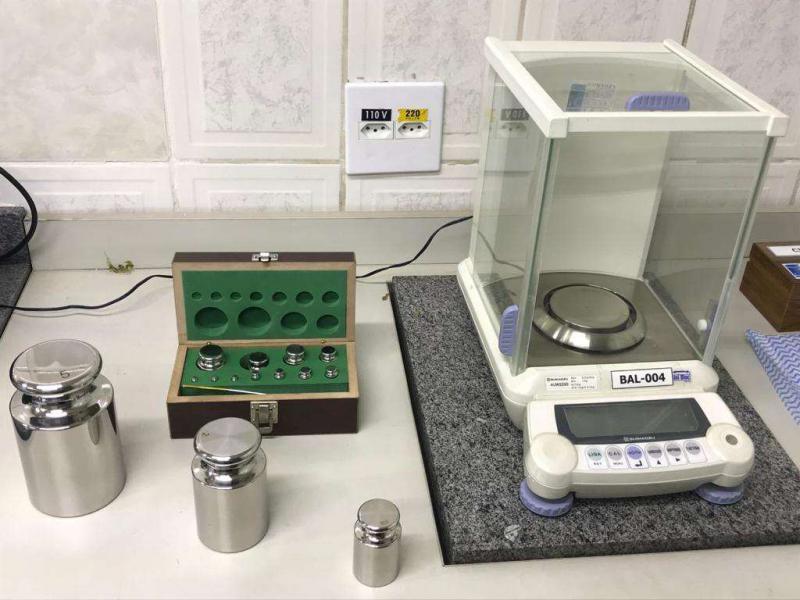 Peso padrão para calibração de balanças