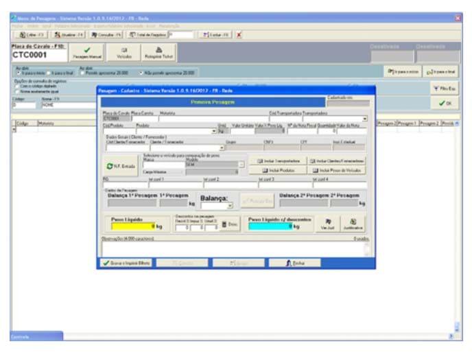 Software Gerenciador de Pesagem